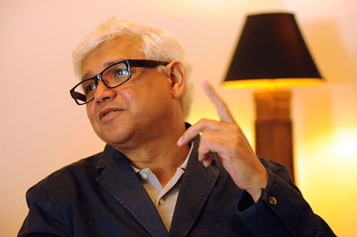 Author, Amitav Ghosh