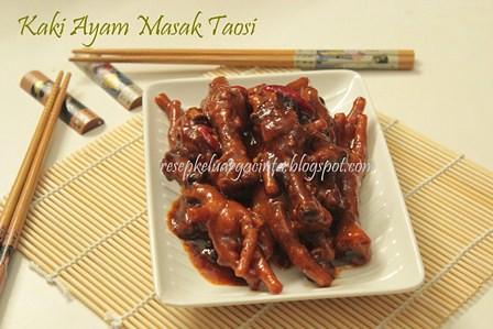 Dimsum Kaki Ayam Masak Taosi