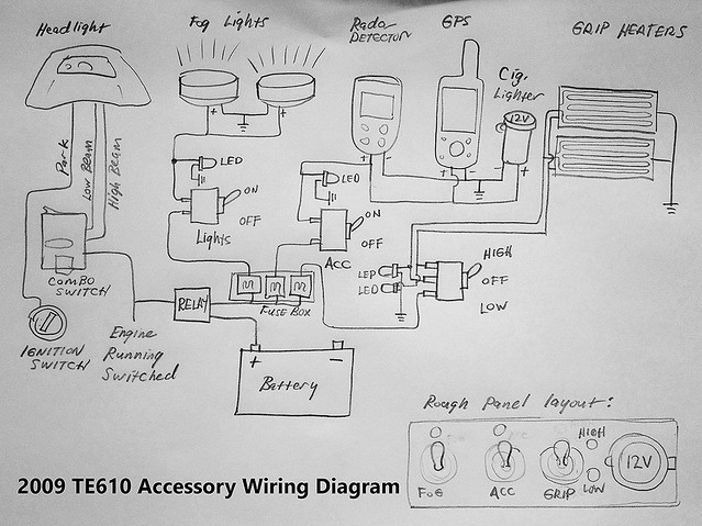 8208497745_13d84342d3_z te610 accessory wiring diagram feedback welcome! adventure rider te 610 wiring diagram at crackthecode.co