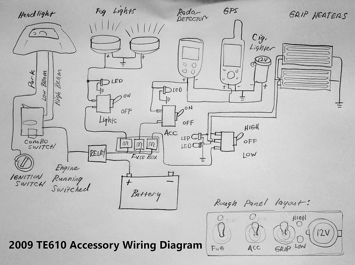 Te610 Accessory Wiring Diagram