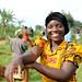 A resident of Masaka poses for a photo as she takes a break - Masaka, 24 November 2012 by Paul Kagame