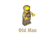 LEGO Minifigures Series 10 -  Old Man