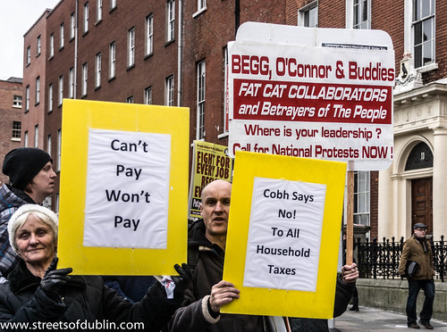 Can't Pay, Won't Pay: Anti-Austerity Protest In Dublin (Ireland) - 24 November 2012 by infomatique