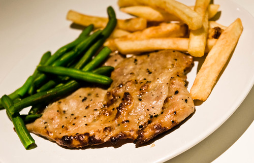Black Pepper Sauce Steak สเต็กหมูพริกไทยดำ