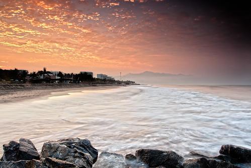 vacation beach sunrise landscape mexico dawn sand flickr waves jetty earlymorning jalisco pacificocean puertovallarta waterscape beachscape ef1740f40l rivieranayarit canon5dmkii singhrayrgnd edwardkreis dkiphotography daddykimaging