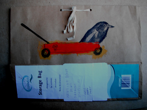 Storage Bag Crow and Skelly Truck. by The People In My Head
