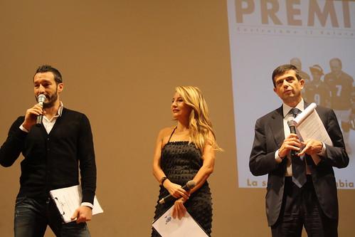 Con Jo Squillo e Gianluca Zambrotta