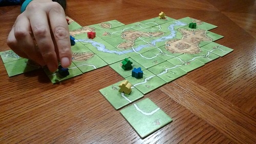 Tidiest Carcassonne board ever