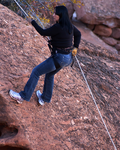 30 Days of Gratitude:  Day 23 -- Rappelling