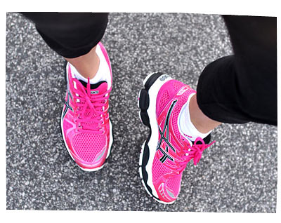 Asics Pink Shoes