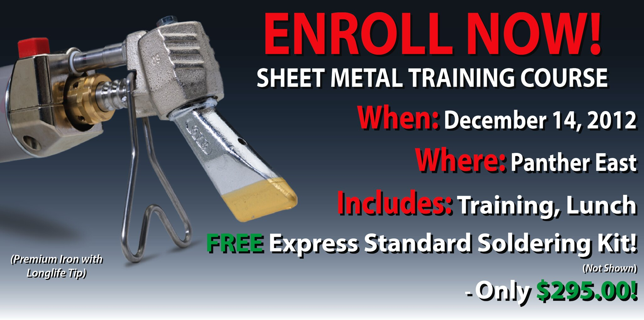Express Sheet Metal Training at Panther East