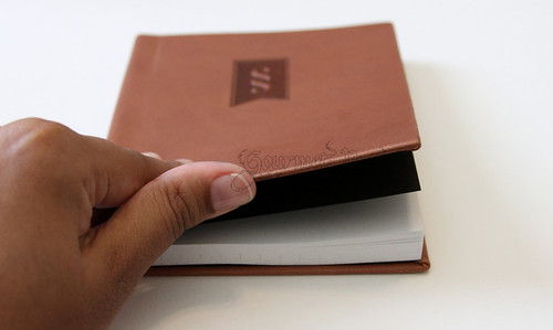 Bound Vegan Leather Journal Cover