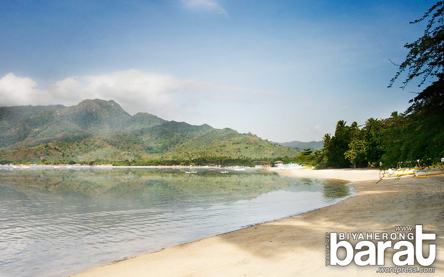 Laiya Beach in San Juan Batangas
