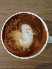 Today's latte, Dumb Ways To Die