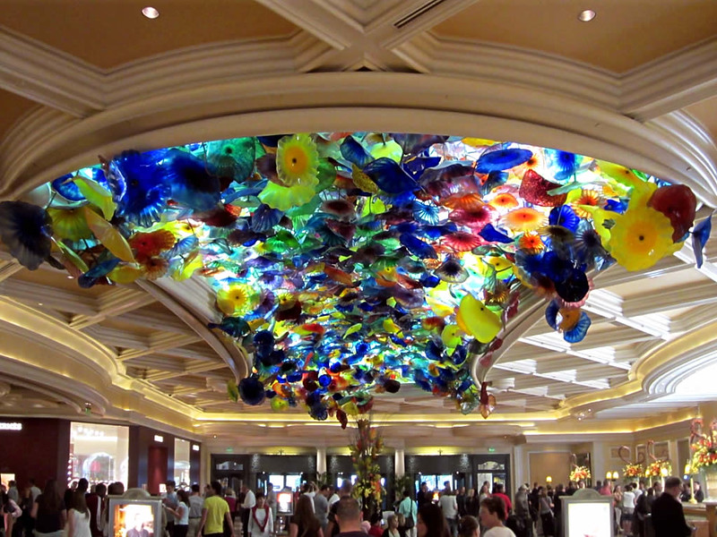 Techo del hotel Bellagio in Las Vegas, Nevada