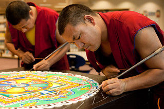 Third Day: the Tibetan Sand Mandala