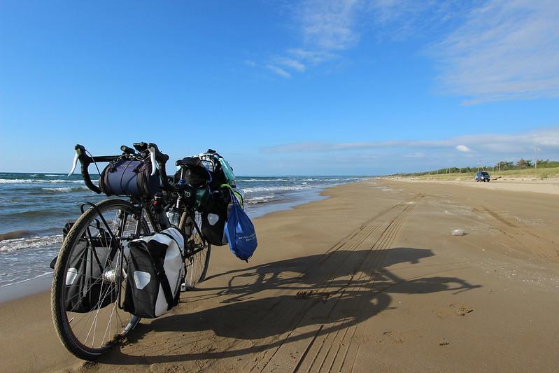 千里浜なぎさドライブウェイ 自転車 その2