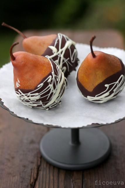 Pere martin sec al doppio cioccolato