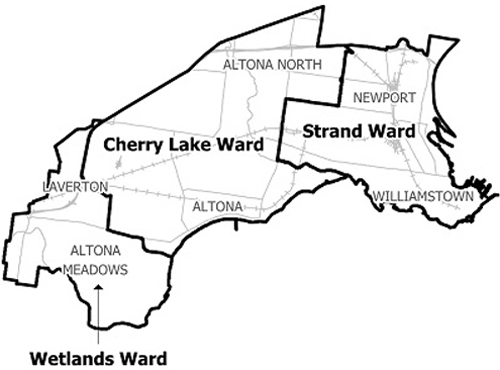 Hobsons Bay Wards 2012