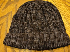 Dad's Cabled Hat 1.1