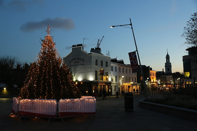 Greenwich Christmas Tree