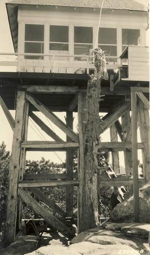 Reyes Peak Lookout, 1927