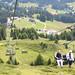 Sedačková lanovka na Piz Scalottas je v provozu v zimě i v létě, foto: Radim Polcer a Roman Gric
