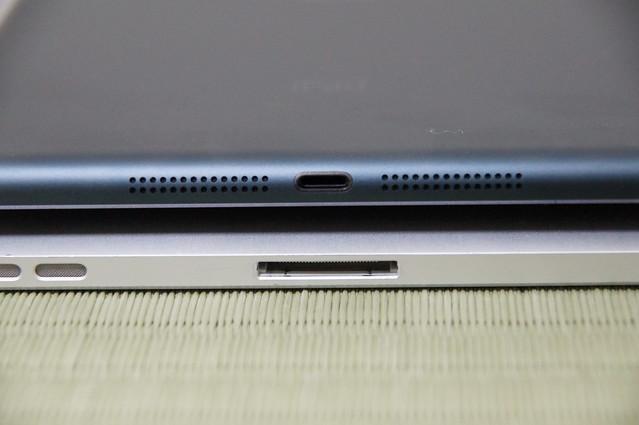 iPadのライトニング部分比較