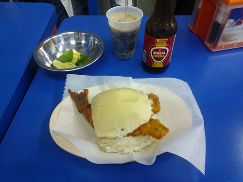 The Original Pan Con Minuta with a Malta India
