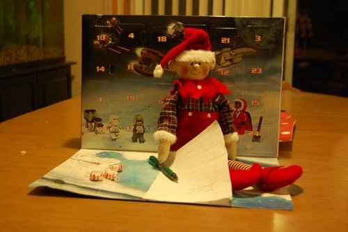 elf on the shelf 2012: 12/1