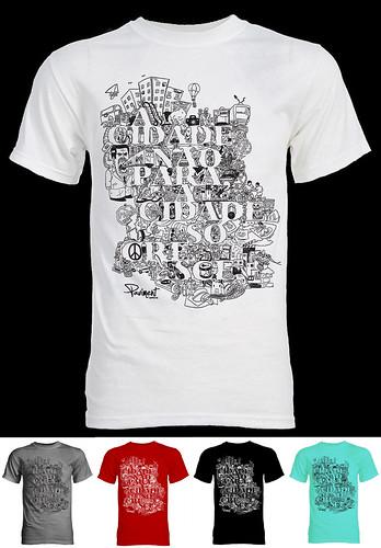Camiseta A cidade by adrianocarvalho