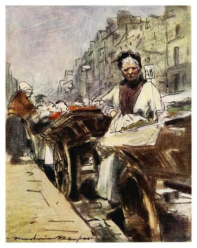 010-Vendedora de fruta-Paris (1909)-Mortimer Menpes