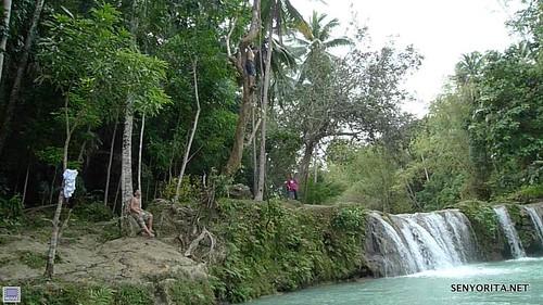 Cambugahay Falls in Siquijor