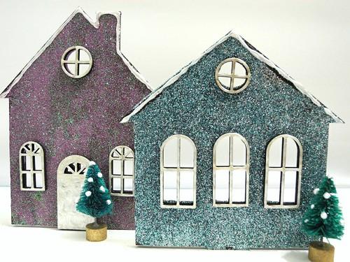 Glitter Houses (detail)