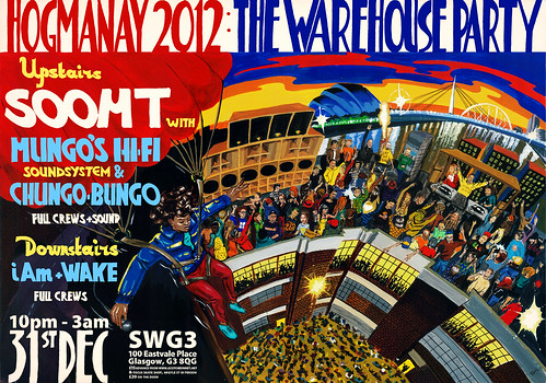 Hogmanay 2012: The Warehouse Party