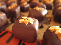 Coffee Crunch Chocolates