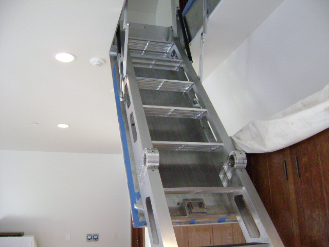 Attic stairs retractable music search engine at for Folding stairs