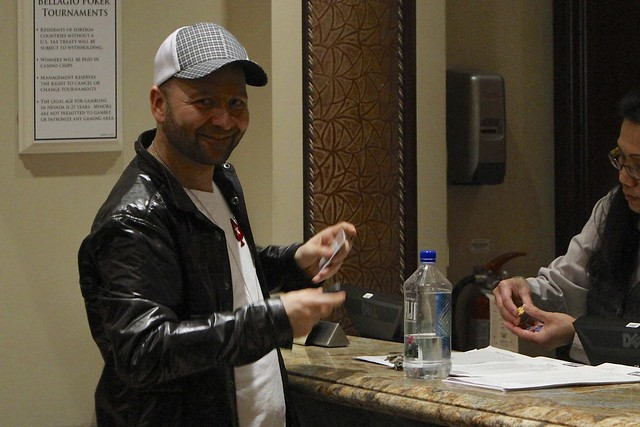 0791 Daniel Negreanu Re-Enters Again