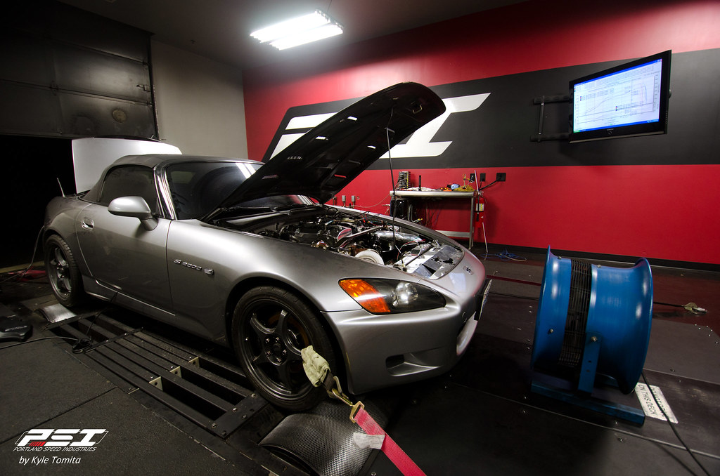Turbo Honda S2000 on the dyno at PSI