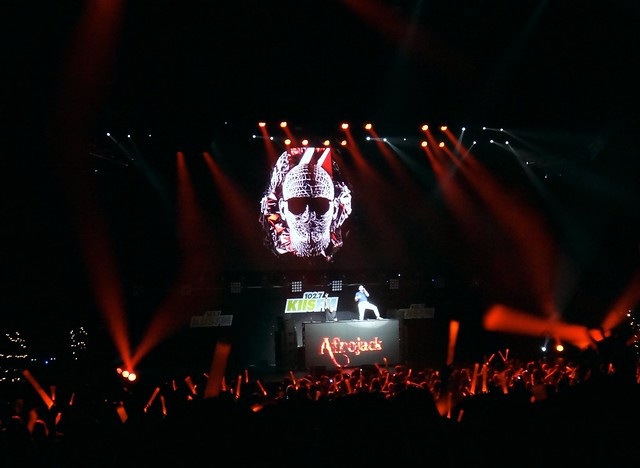 Afrojack with special guest Pitbull at KIIS FM Jingle Ball