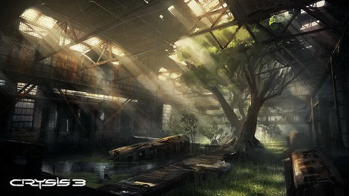 Crysis 3 - Warehouse Concept Art