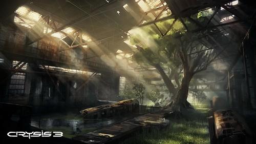 Crysis 3 - Warehouse Concept Art