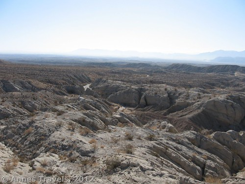 Another view from Truckhaven Rocks, Anza Borrego Desert State Park, California