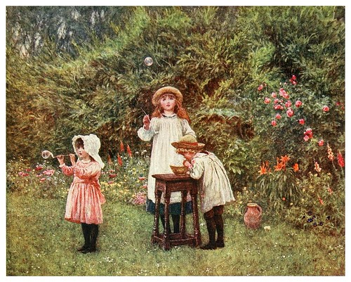 020- Pompas de jabon-Happy England as painted by Helen Allingham-1903