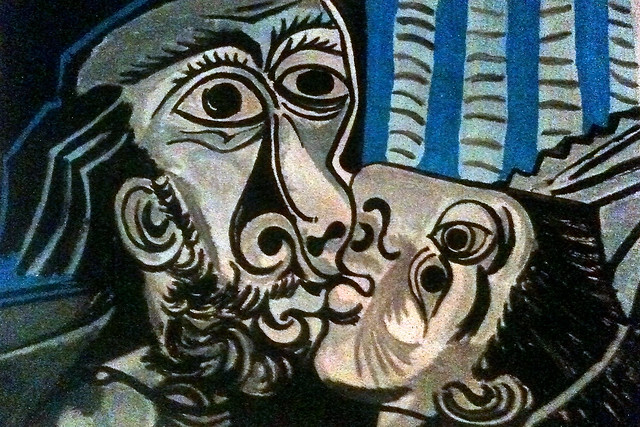 Pablo Picasso, Kiss, #3 (finished)