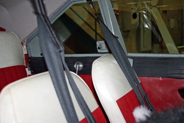 Piper Tri Pacer Interior – Billy Knight