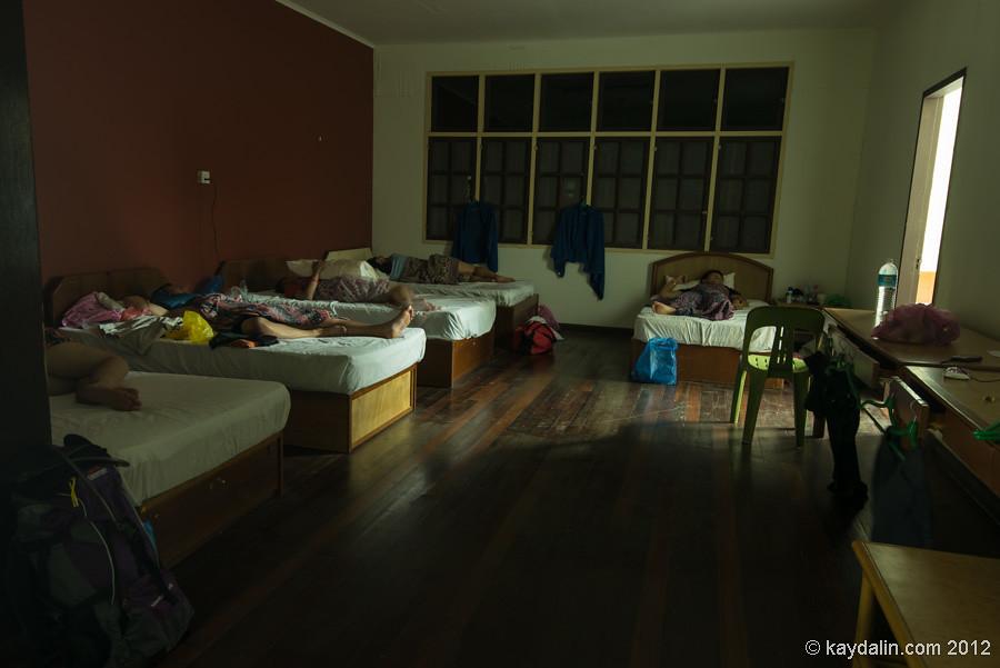 mulu hostel, malaysia