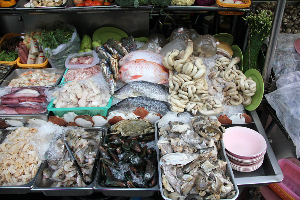 Thai Street Food Ingredients