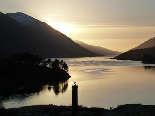 Loch Shiel, Scotland at Sunset