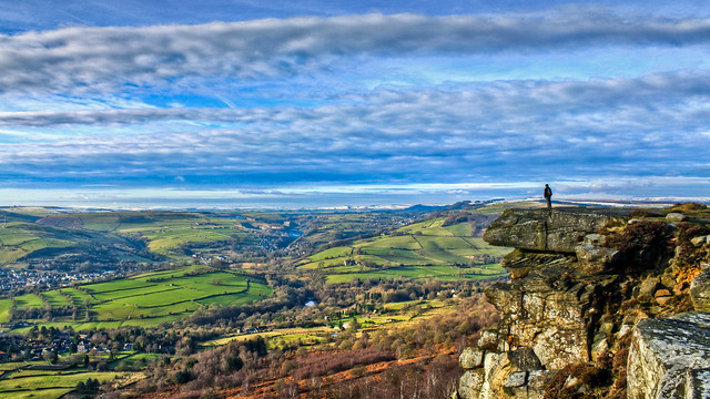 0322 - England, Peak District, Curbar Edge HDR